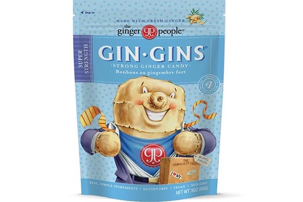 Gin Gins ginger sweets to help alleviate nausea