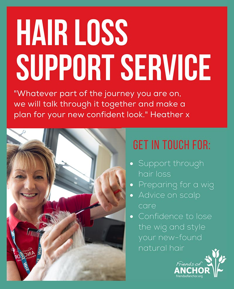 Hair loss support service