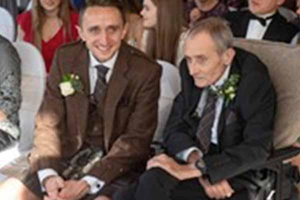 Son's wedding day